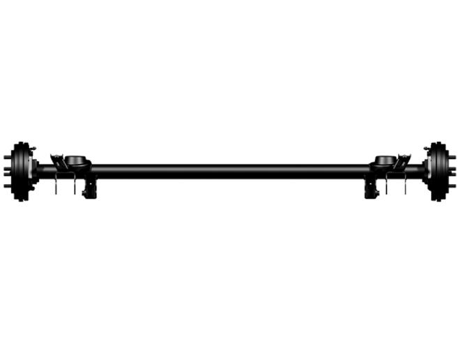 Ea0211-3300000 non-driven rear axle