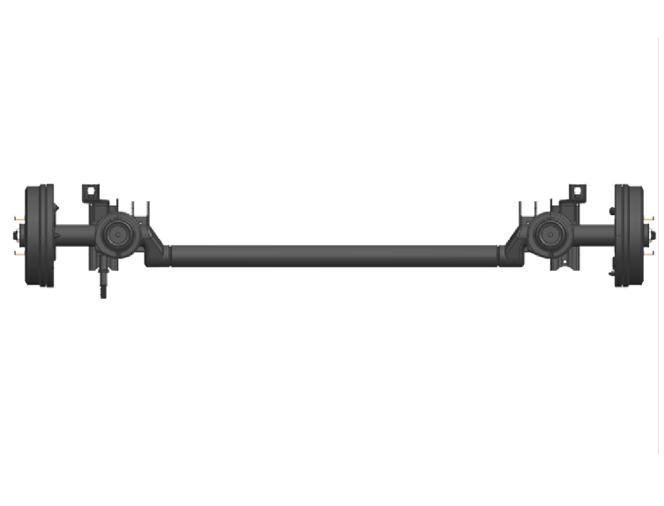 D251 non-driven rear axle