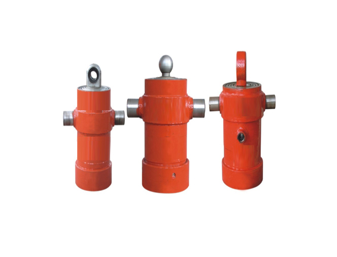 Side-turning sleeve cylinder